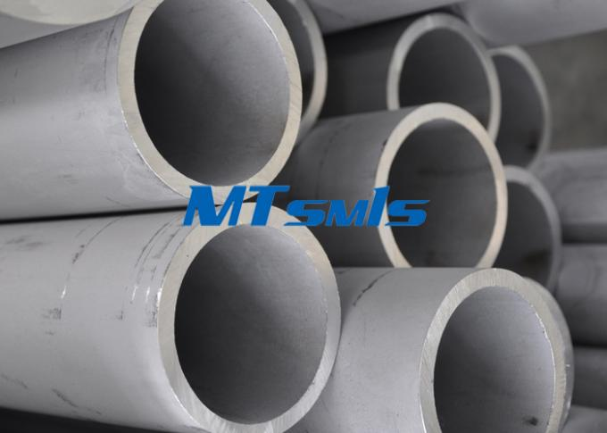 Building Seamless Stainless Tube TP347 / 321H / 316Ti / 317L Stainless Steel Pipe