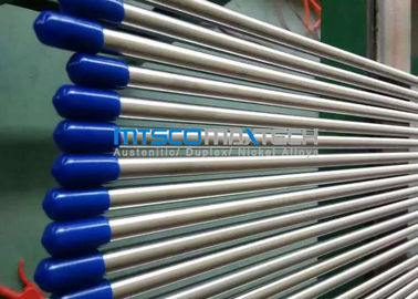 چین 3 / 8 Inch TP316L / 316Ti Stainless Steel Hydualic Tubing With Bright Annealed Surface کارخانه