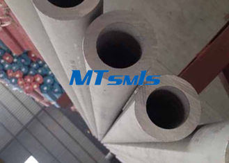 چین DN150 Stainless Steel Seamless Pipe S34700 / S34709 Industrial Welding Round Tube کارخانه