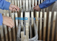Large diameter 25.4*2.11mm welding stainless steel pipe ASTM A213 S30403 تامین کننده