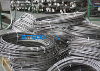 چین Cold Rolled TP 347 / 347H 9.53mm Coiled Stainless Tube Seamless Stainless Steel Pipe کارخانه