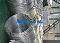 چین TP316 / 316L Stainless Steel Welded Super Long Coiled Tube For Petrochemical Industry کارخانه