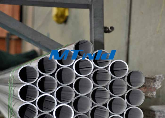 چین Welded ERW Stainless Steel Tubing ASTM A789 / SA789 Welding Round Tube 300 Series کارخانه
