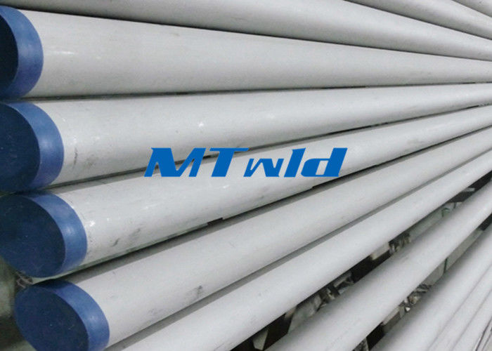 ERW ASTM Standard Stainless Steel Welded Pipe For Fluid / Gas Transportation تامین کننده