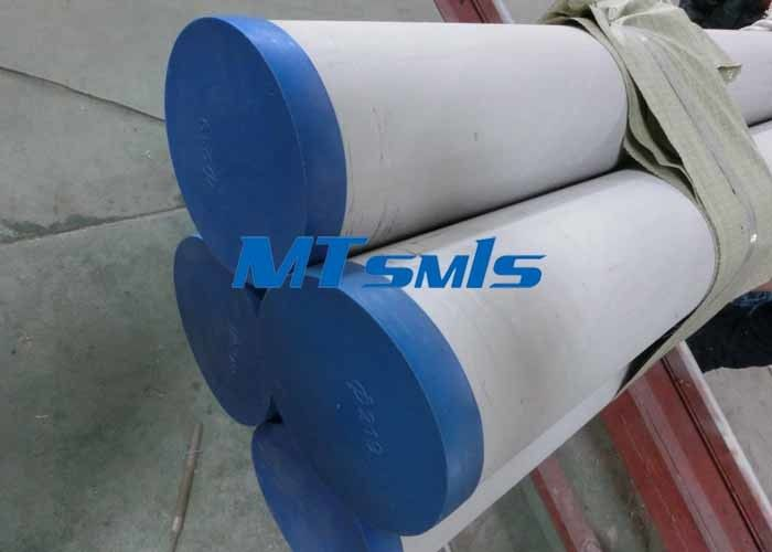 Plain End TP317 / 347H Stainless Steel Pipe 300 Series 14BWG , 18BWG , 20BWG تامین کننده