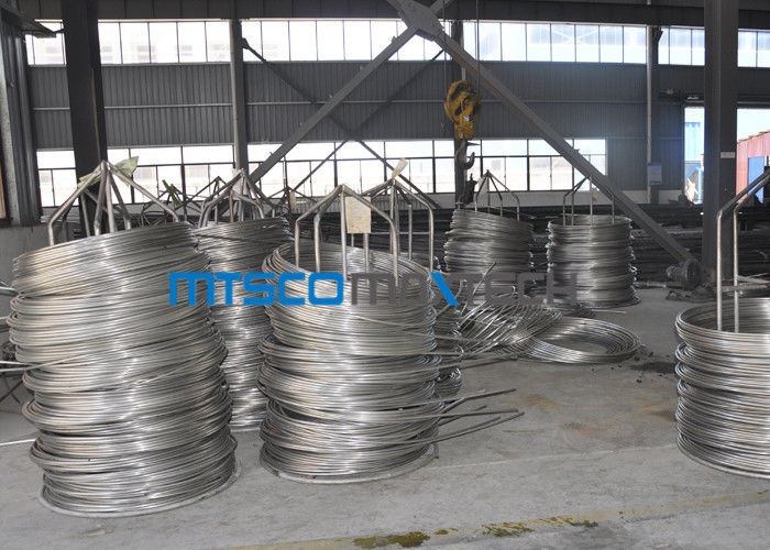 ASTM A790 2205 Duplex Steel Tube Chemical Injection Coiled Stainless Tube