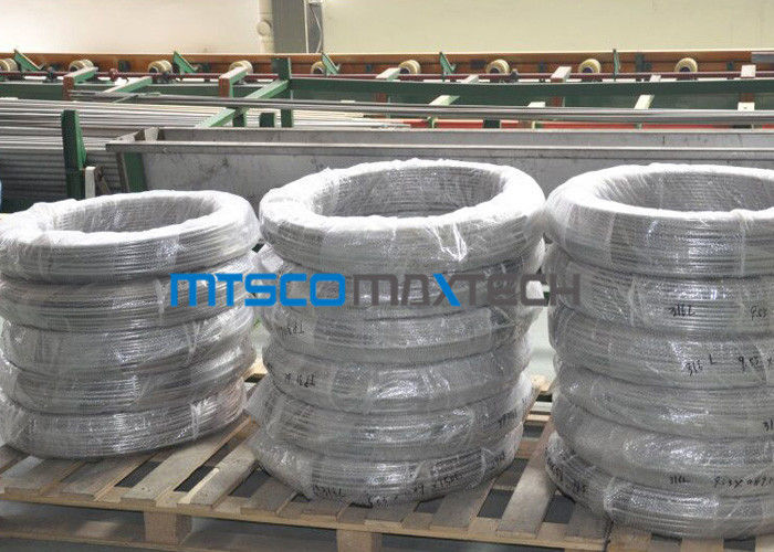 Chemical Industry Duplex Steel Tube Coiled Pipe S31803 ASTM A789 / A790 تامین کننده