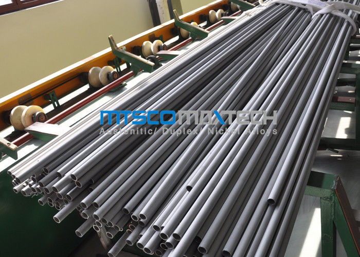 چین 3 / 4 Inch UNS S32750 / S32760 Duplex Stainless Steel Tubing With Cold Rolled کارخانه