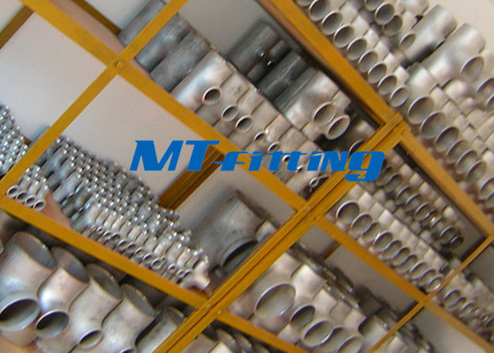ASTM A815 S32750 / SAF 2507 Flanges Pipe Fittings , Duplex Steel Equal Tee Pipe Fitting For Connection تامین کننده