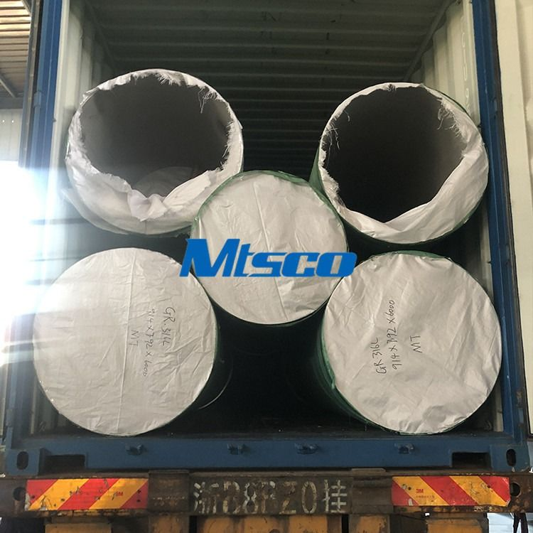 ASTM A358 TP316L Double Welded Stainless Steel Pipe For Industrial