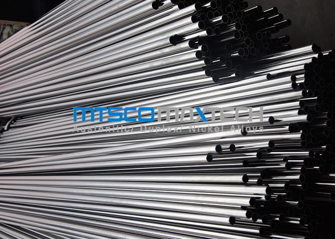 S30400 S30403 Cold Drawn Tube 14 / 16SWG , Ss Seamless Pipe 6000 MM Length