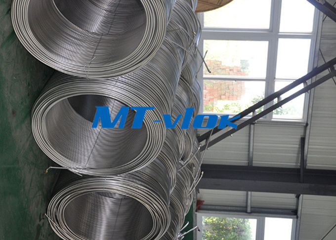 ASTM A213 5mm TP316L Stainless Steel Tubing Coil / Coiled Stainless Tubing