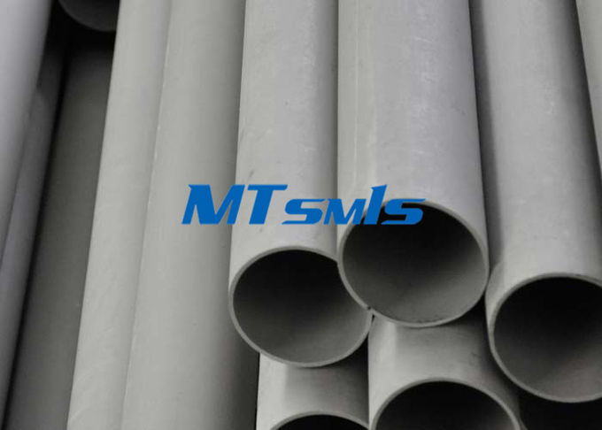 DN200 ASTM A790 SAF2205 / 1.4462 Big Size Duplex Steel Pipe For Food Industry